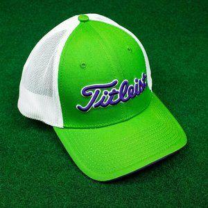 NWT Titleist Green/Blue/White Mesh Hat